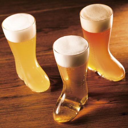 かわいいブーツグラス「飲み比べセット」!