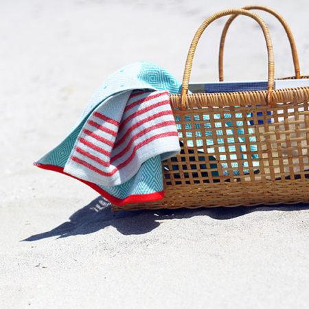 夏におすすめ、ターキッシュタオル