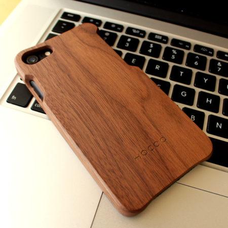 無垢のiPhone7用木製アイフォンケース