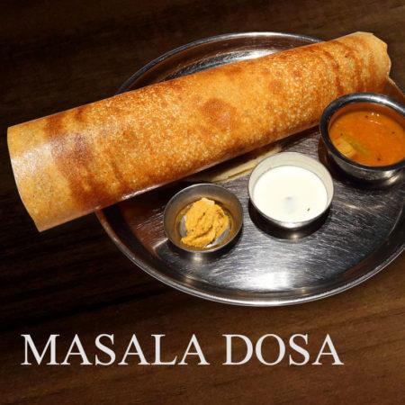 南インドの伝統的なクレープ、ドーサが登場