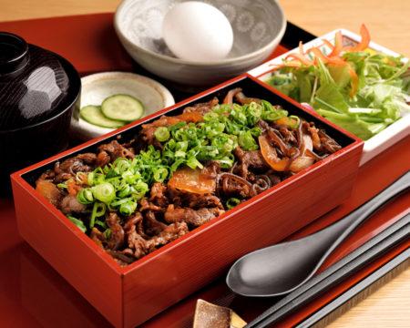 松阪牛の牛丼御膳