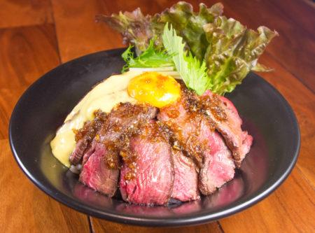 【サービスステーキ丼 限定10食⇒20食!】