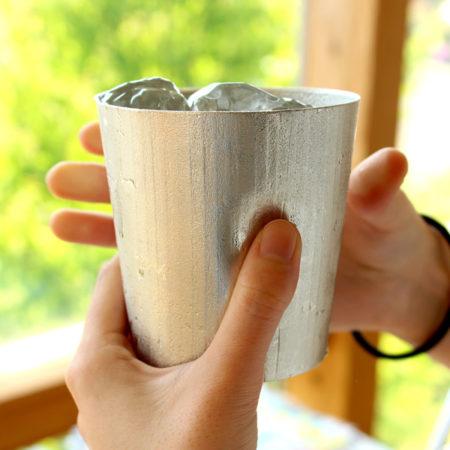 【夏アイテム】錫のタンブラー
