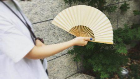 【夏アイテム】ひのきの扇子