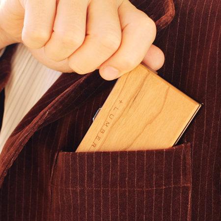 【送別品ギフト】木製名刺ケース