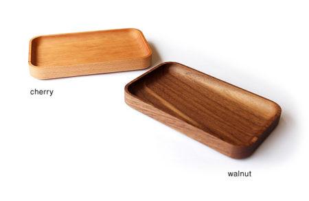 【新商品】高級感ある木製ミニトレイ