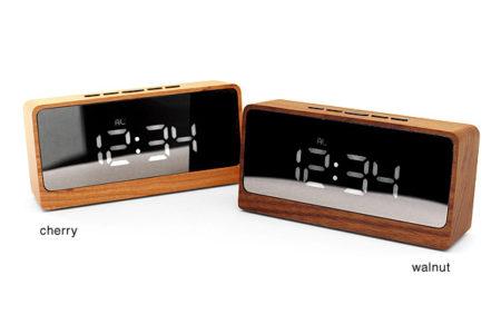 【新商品】木製デジタルクロック