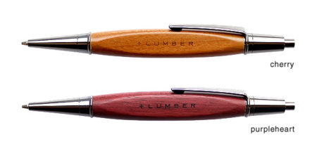 【新商品】木製のシャープペンシル