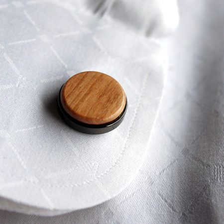 【新商品】木製カフス