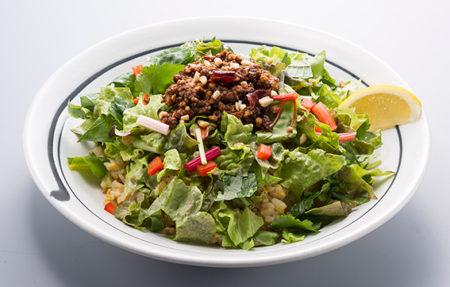 野菜6種キーマカレーの混ぜチャーハン