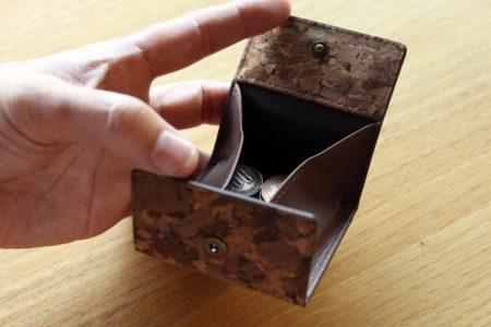 【新商品】コルクのコインケース