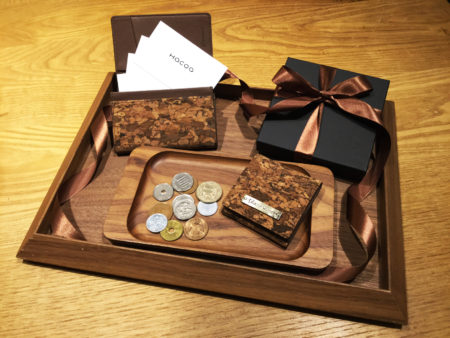 【新商品】コルクのカードケース