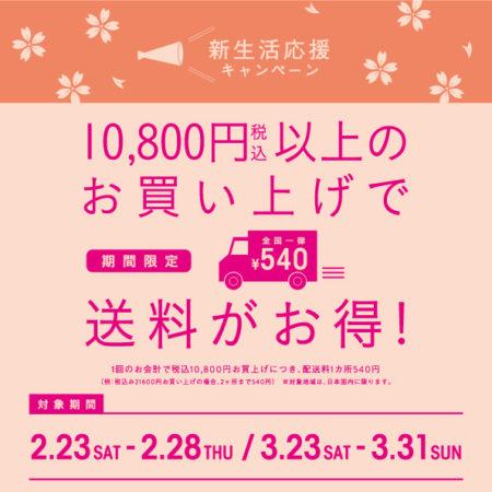 【期間限定】新生活応援キャンペーン