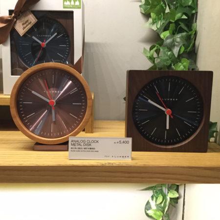 【新商品】アナログ時計