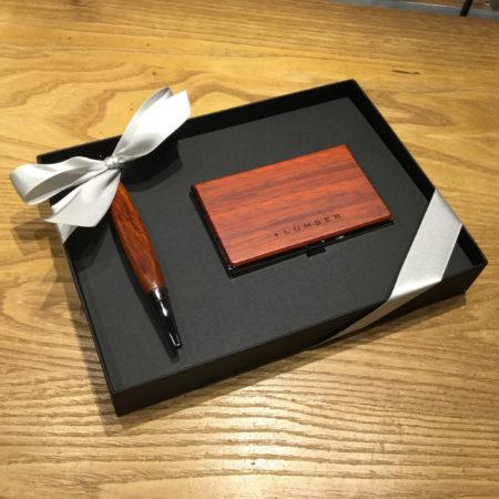 【新商品】カードケース 花梨