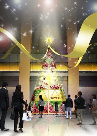 「KITTE名古屋 星のクリスマス」開催