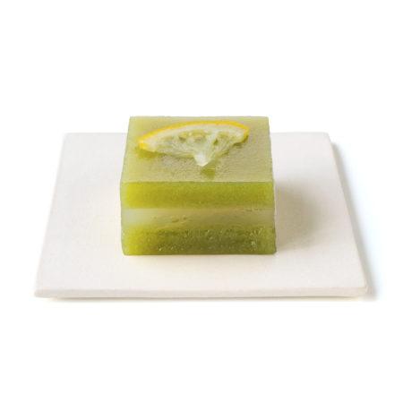 【新商品】檸檬と緑茶のくず製ういろう