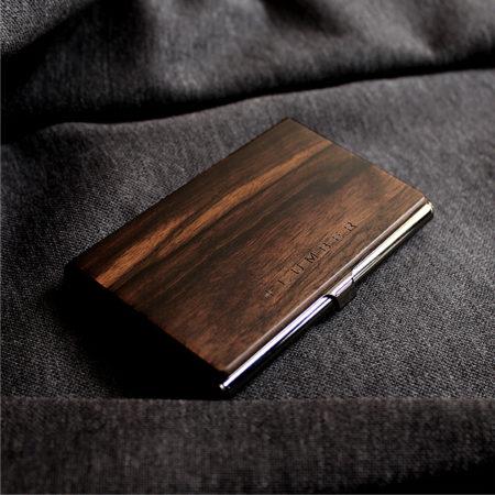 【新商品】カードケース・名刺入れ(黒檀)