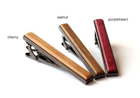 【新商品】木製ネクタイピン