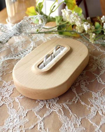 【新商品】木製Ring Pillow