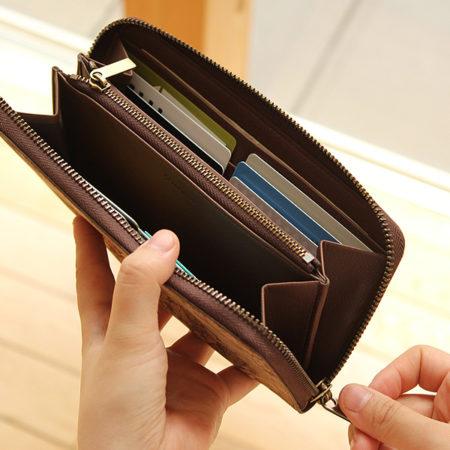 【新商品】コルクの長財布
