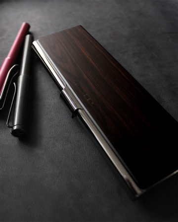 【新商品】PEN CASE The Premium(黒檀)