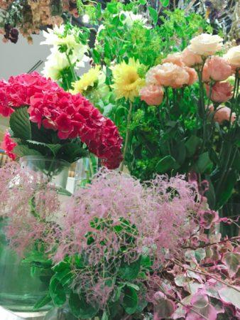 春のお花から夏のお花へ
