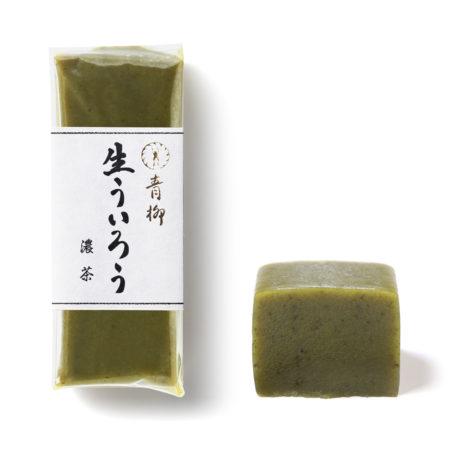 青柳 季節の生ういろう濃茶